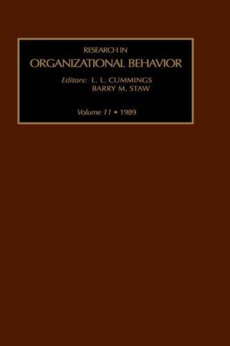 Download Research in Organizational Behavior