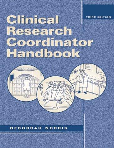 Download Clinical Research Coordinator Handbook