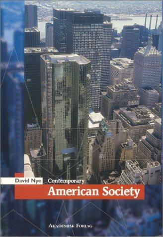 Download Contemporary American Society