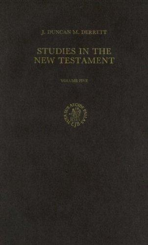Download Studies in the New Testament