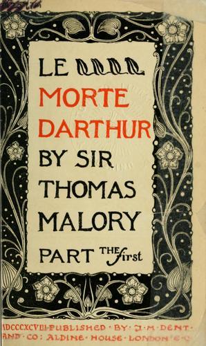 Le morte Darthur.