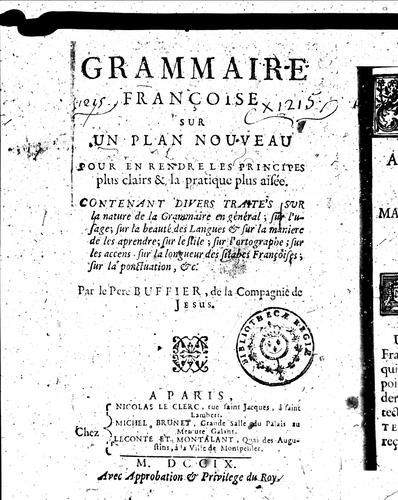 Download Grammaire françoise sur un plan nouveau