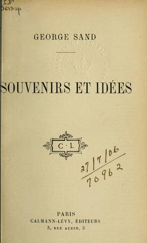Download Souvenirs et idées.