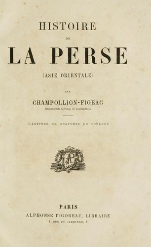 Histoire de la Perse