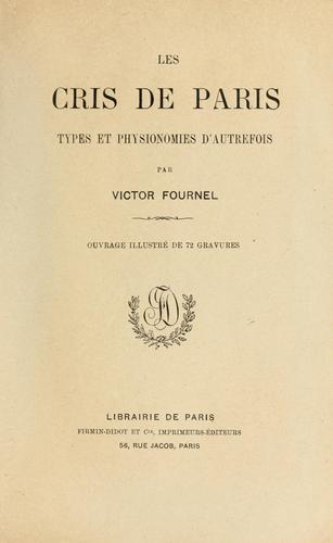 Download Les cris de Paris