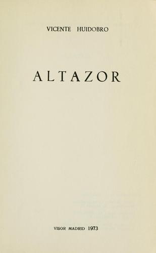 Altazor.
