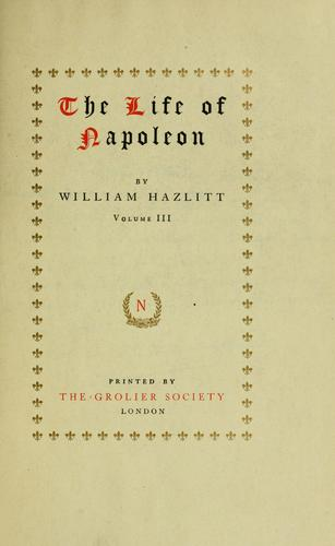 Download The life of Napoleon