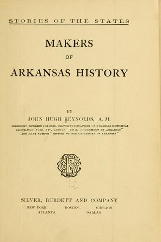 Download Makers of Arkansas history