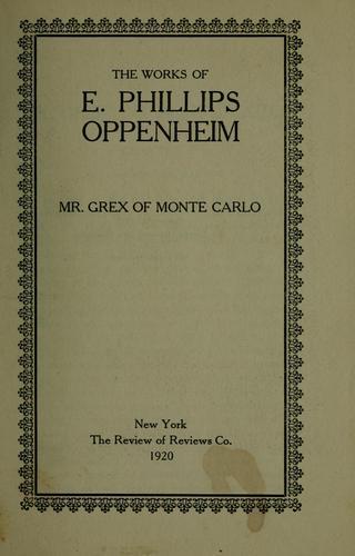Download Mr. Grex of Monte Carlo