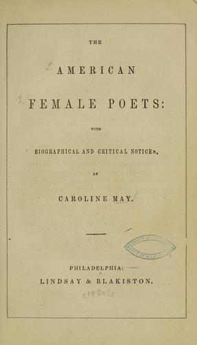 Download The American female poets