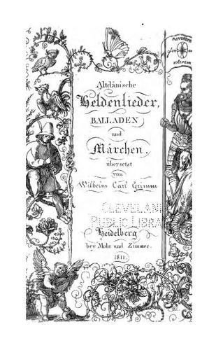 Altdänische Heldenlieder, Balladen und Märchen.