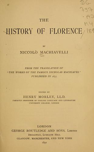 Download The history of Florence