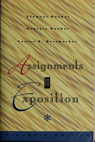 Assignments in Exposition
