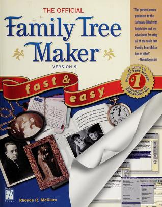 Cover of: The official Family tree maker 9 | Rhonda R. McClure
