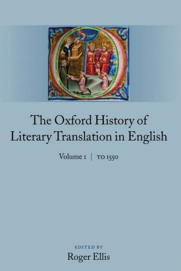 Cover of: The Oxford history of literary translation in English   Ellis, Roger ne  en Australie