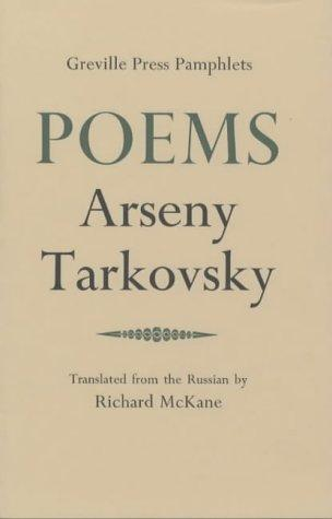 Poems (Greville Press Pamphlets) by Arseny Tarkovsky