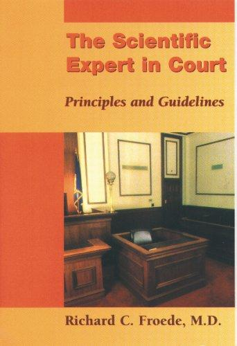 Scientific Expert In Court