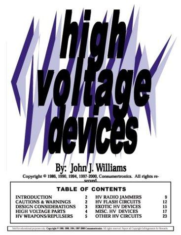 High Voltage Devices by John J. Williams