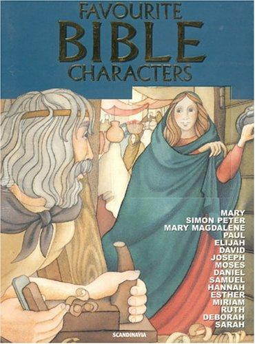 Favourite Bible Characters by various illustrators