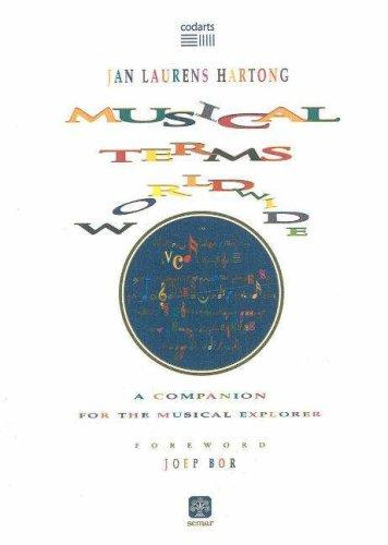 Musical Terms World Wide by Jan Laurens Hartong
