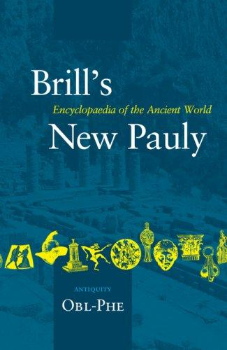 Brill's New Pauly: Antiquity by