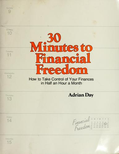 30 minutes to financial freedom by Adrian Day